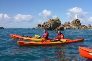 Kayak tours & courses in jersey