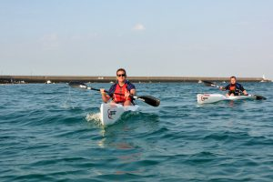 Surfski courses in Jersey