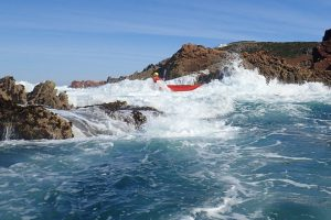 Advanced sea kayak courses in Jersey
