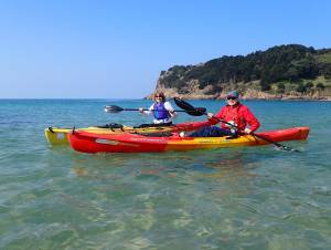 sea kayak courses in Jersey